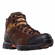 Danner 17602 Corvallis GTX Waterproof Non-Metallic Safety Toe Work Boots Brown
