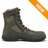 Tactical Research TR636Z CT Maintainer USAF Side Zip Composite Toe Boot