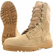 Wellco T161 Tan Hot Weather Steel Toe Combat Boot