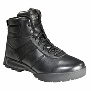 "5.11 Haste 6"" Patrol Black Side Zip Tactical Boot"