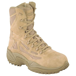 Reebok RB8894 Men's Rapid Response Composite Toe Side Zip Desert Boot