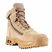 Ridge 3003Z Desert Storm Tan Zipper Quarter Boot