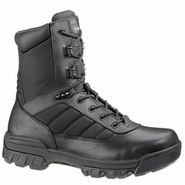 Bates E02261 Men's 8in Side Zipper Hot Weather Black Tactical Sport Boot