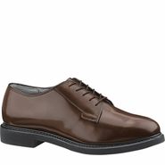 Bates E00082 Lites Brown Leather Uniform Oxford