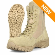 Smith & Wesson SW8TZ Suede Tactical Zipper Boot