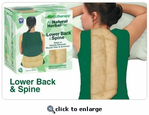 Heaven's Therapy Microwave Herbal Pack - Lumbar