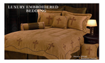 Barbwire Spanish Crosses Comforter Bed Set