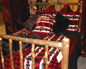 Bear Plaid Blanket