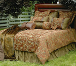Nutmeg Leaf Bed Set