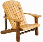 Old Hickory Adirondack Chair with Paddle Arms