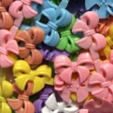 Pastel Mix Double Sided Bow Barrettes