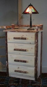 Pine Four Drawer Chest