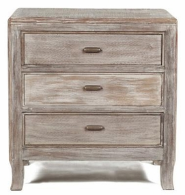 Aria 3 Drawer Nightstand