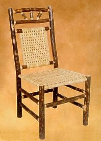 Wagon Wheel Dining Chair