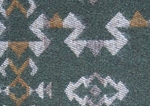 Broken Arrow Green Fabric (Limited Availability)