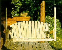 Cedar 5' Porch Swing