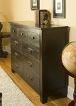 Florence Nine Drawer Dresser