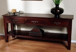 Florence Three Drawer Console