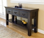 Florence 54 inch Three Drawer Console