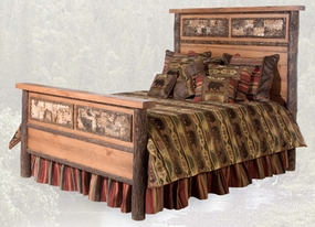 Woodland Match Bed