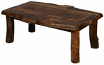 Wild Edge Top Homestead Aspen Coffee Table