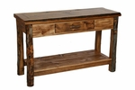 Homestead Aspen Sofa Table (1 Drawer & Shelf)
