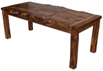 "Wild Edge Aspen Dining Table 72"" or 84"""