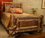 Yukon Log Bed
