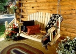 4' American Garden Porch Swing