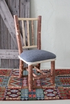 Pine Upholstered Side Chair
