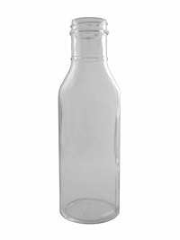 Clear Syrup Glass, 12oz.