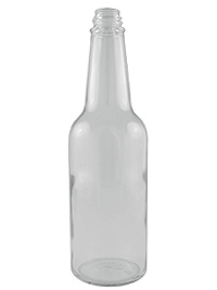 Clear Woozy Glass, 10oz.