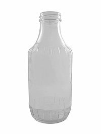 Clear Glass, 16oz.