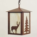 Deer/Tree Pendant Light