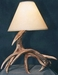 Whitetail Two Antler Table Lamp