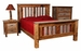 Shadow Mountain Barnwood Bed