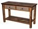 Barnwood 2-Drawer Sofa Table