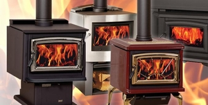 Gas Pellet Amp Wood Stoves From Pacific Energy Lodge Craft