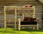 Log Bunk Beds & Trundles