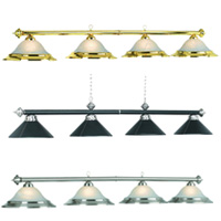 Four Shade Pool Table Lights
