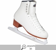 Riedell 29 Girls Figure Skates With Onyx Blade
