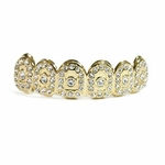 Crown 14k Gold Plated Top Grillz