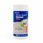 BAZIC 100 Ct. White Board Surface Wipes