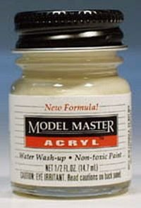 1/2oz. Bottle Model Master Acrylic Panzer Interior Buff