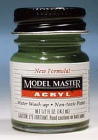 1/2oz. Bottle Model Master Acrylic Aircraft Grey