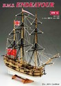 1/143 HMS Endeavour 3-Masted British Sailing Ship