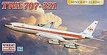 1/144 707-331 TWA Commerical Airliner