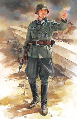 1/16 WWII German Field Commander