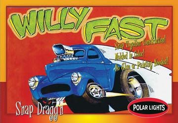 1/32 1940 Willys Stone, Woods & Cook Gasser Car (Snap)