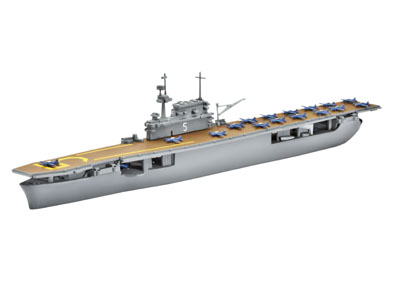 1/1200 USS Yorktown CV5 Aircraft Carrier